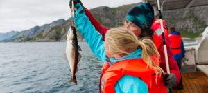 Глубоководная и прибрежная рыбалка в Норвегии