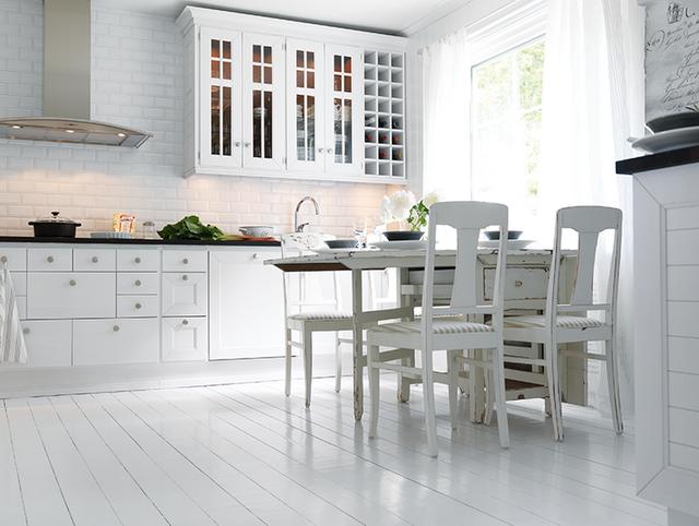 Секрет создания белой кухни