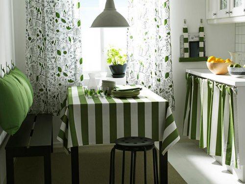 Да – текстилю на кухне!